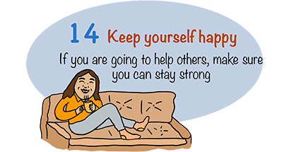 Keep yourself happy