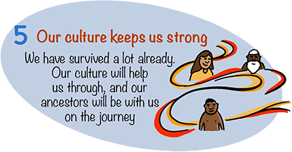 Our culture keeps us strong